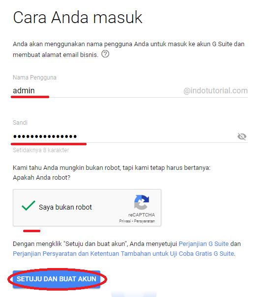 Cara Membuat Akun Gsuite - Email Google Domain Kita Sendiri - dengan VPS Linode Buat Akun