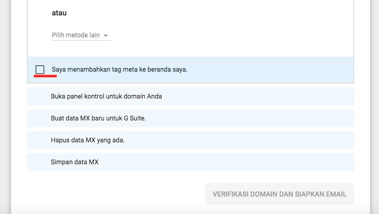 Cara Membuat Akun Gsuite - Email Google Domain Kita Sendiri - dengan VPS Linode Domain Verifikasi