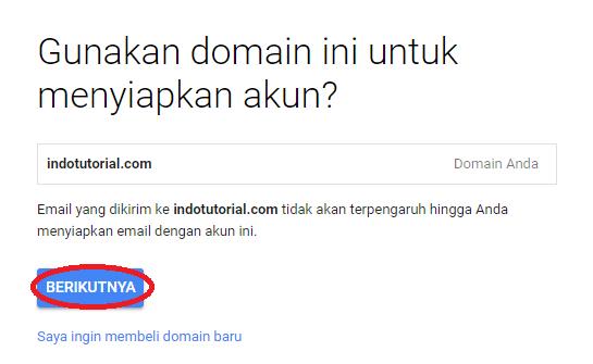 Cara Membuat Akun Gsuite - Email Google Domain Kita Sendiri - dengan VPS Linode KonfirmasiDomain