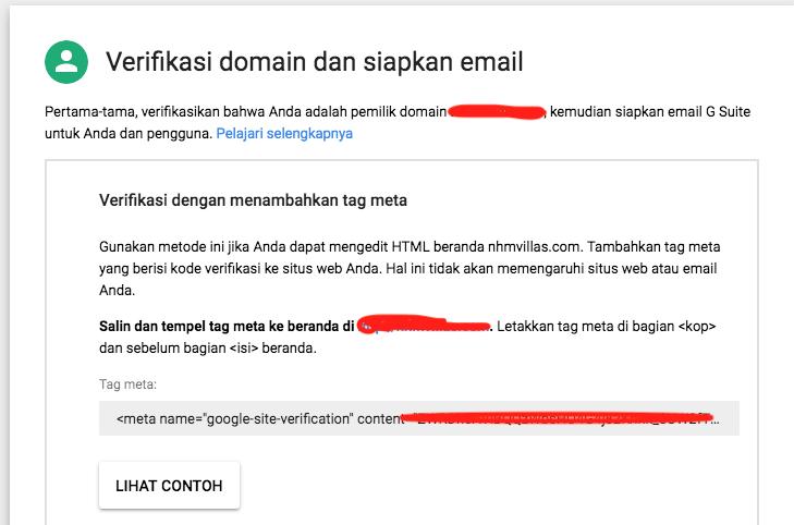 Cara Membuat Akun Gsuite - Email Google Domain Kita Sendiri - dengan VPS Linode META Verifikasi