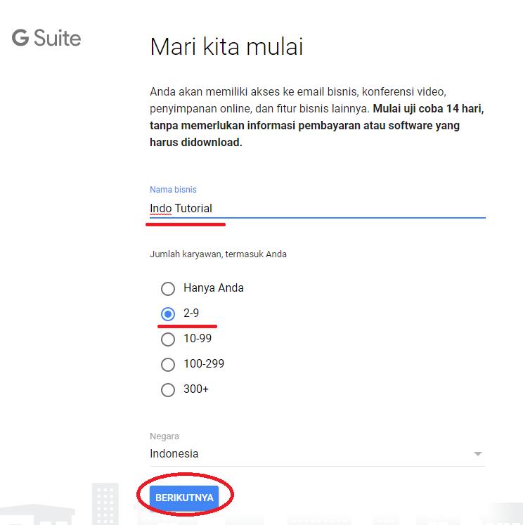 Cara Membuat Akun Gsuite - Email Google Domain Kita Sendiri - dengan VPS Linode Nama Bisnis Gsuite