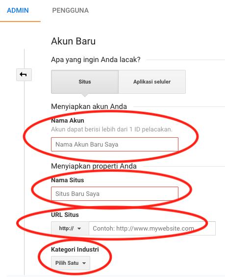 cara-memasang-google-analytics-di-wordpress-Add-Account