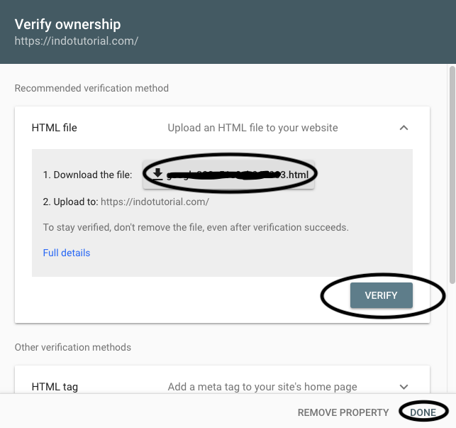 cara-verifikasi-wordpress-di-google-webmaster-tools-verifikasihtml DOne