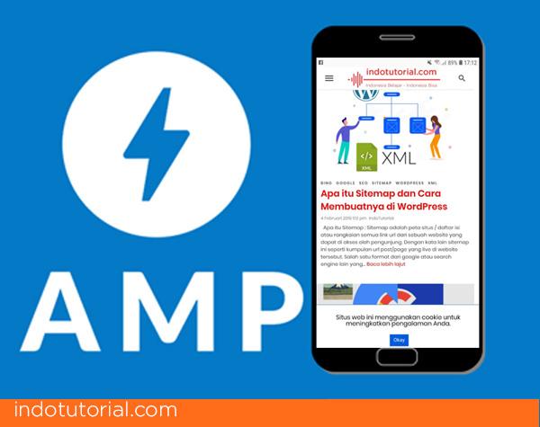 Apa itu AMP Google, dan Cara Menggunakannya di Wordpress-oleh-indotutorial