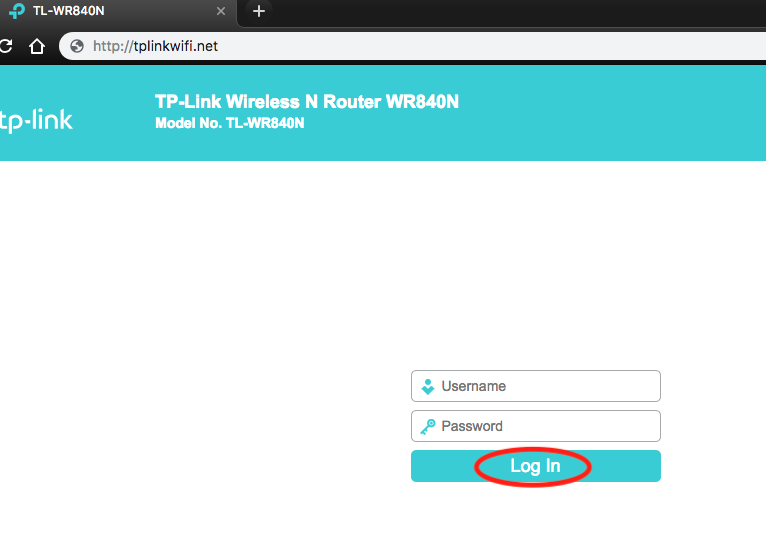Cara Setting Router TP-Link Multifungsi (TL-WR840N) Menjadi Access Point Login