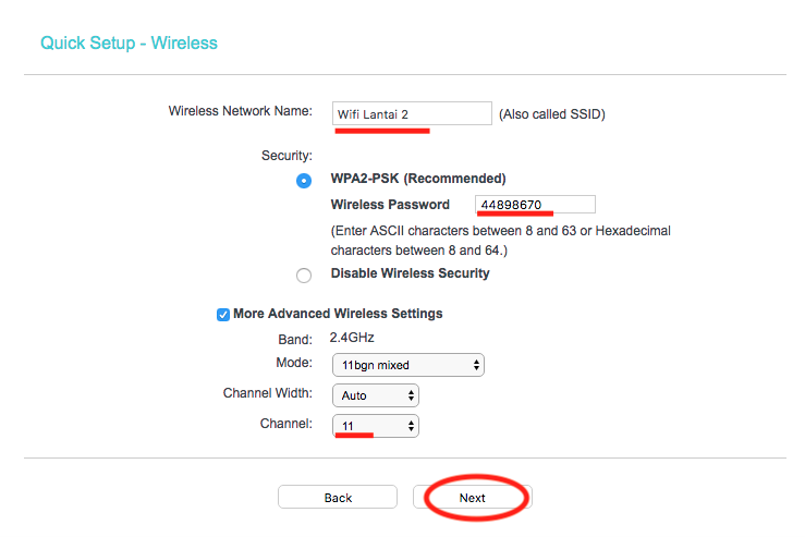 Cara Setting Router TP-Link Multifungsi (TL-WR840N) Menjadi Access Point SSID Password
