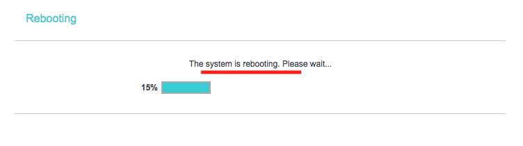 Cara Setting Router TP-Link Multifungsi (TL-WR840N) Menjadi Repeater Reboot