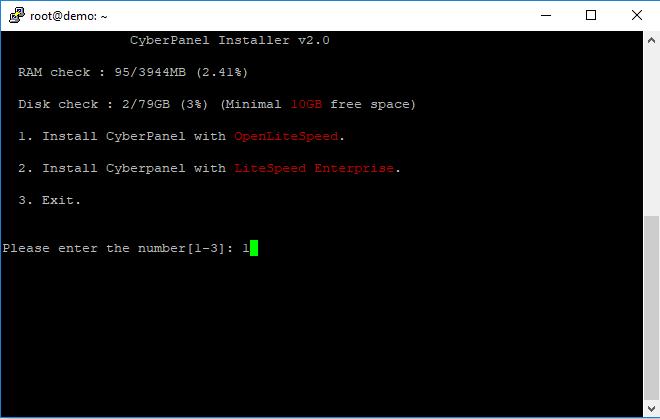Cara Install CyberPanel di Google Cloud - InstallwithOLS