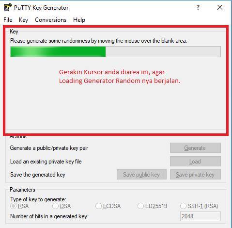 Cara Membuat SSH Key dengan PuttyGEN Proccess