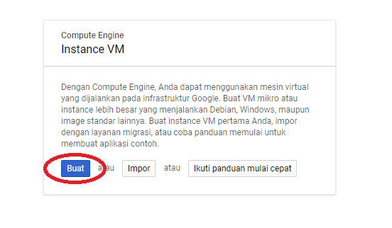 Cara Membuat Virtual Private Server di Google Cloud Create VM