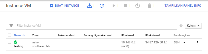 Cara Membuat Virtual Private Server di Google Cloud SERVER READY