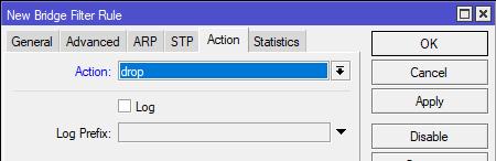 Cara Mengamankan Network PC Dari Virus Ransomware Wannacry di Mikrotik - BridgeFIlterAction