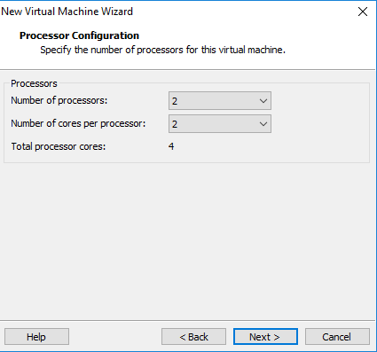 Cara install Windows Server 2012 di VMware workstation 12 Pro - Select Processors by IndoTutorial