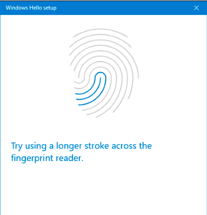 Setting Sign-in di Windows 10 dengan Fingerprint Scans