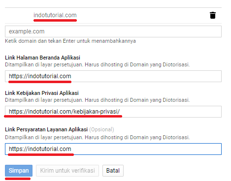 Cara Create Web App di Google Account Save