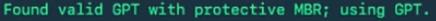 Cara install Windows di Mac tanpa Bootcamp - Protective MBR - GPT