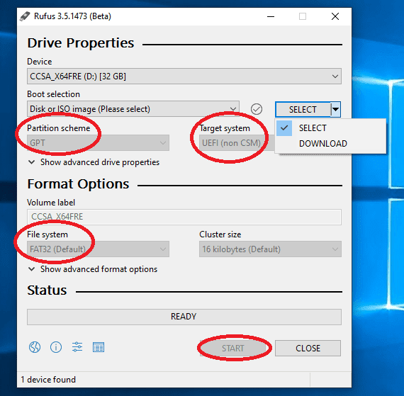 Cara install Windows di Mac tanpa Bootcamp - Rufus Windows 8.1 Bootable GPT