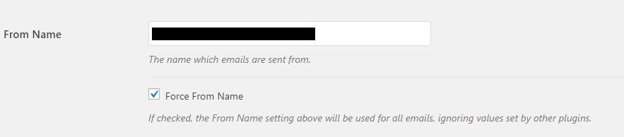 Mengatasi Pesan Contact Form WordPress Tidak Terkirim From Name